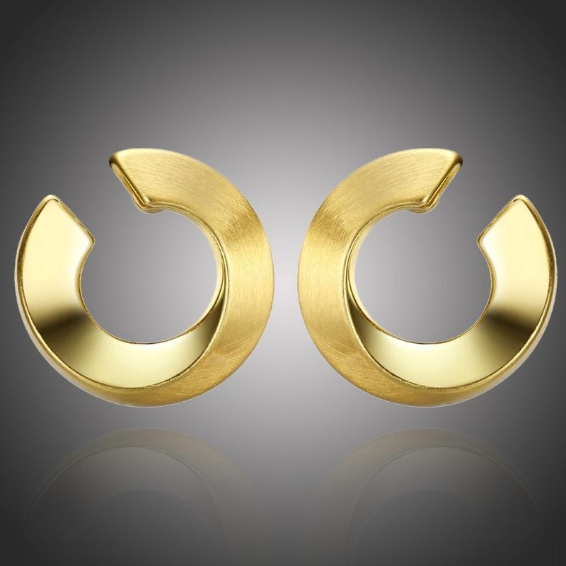 Pozlacené náušnice Verona Gold