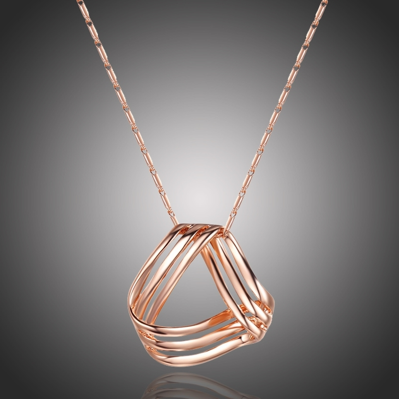 Pozlacený náhrdelník Dafné
