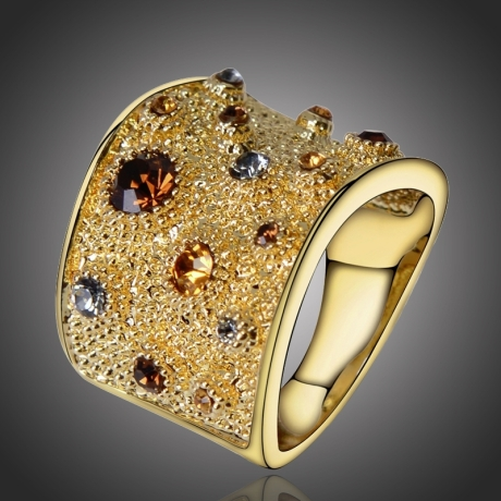 Exkluzivní bohatě zdobený prsten Nathalie
