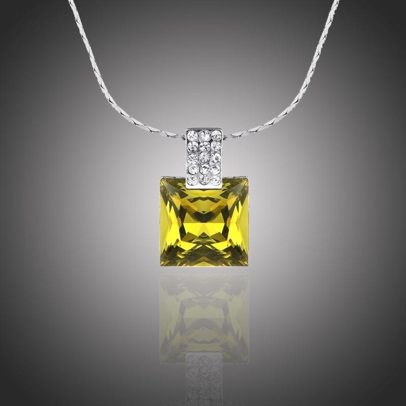 Náhrdelník Swarovski Elements Elzo - čtverec