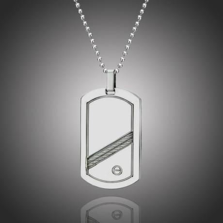 Pánský náhrdelník Roque chirurgická ocel