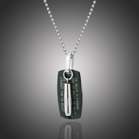 Pánský náhrdelník Enrico chirurgická ocel