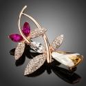 Brož Swarovski Elements Lissandra - motýl