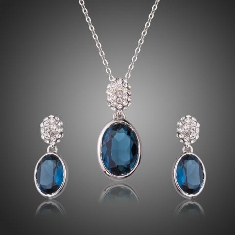 Souprava náhrdelníku a náušnic Swarovski Elements Olivia