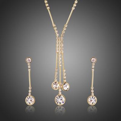 Souprava náhrdelníku a náušnic Swarovski Elements Lagomarsino