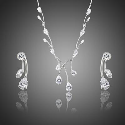 Souprava náhrdelníku a náušnic Swarovski Elements Morandi