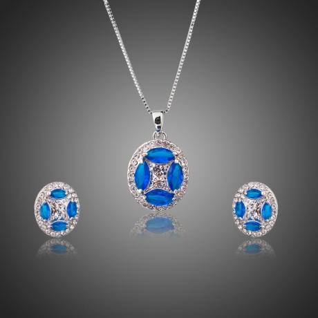 Souprava náhrdelníku a náušnic Swarovski Elements Ricco
