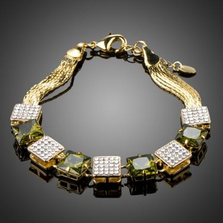 Luxusní náramek Swarovski Elements Baldi