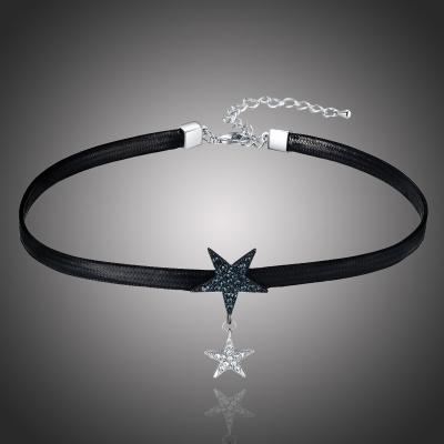 Choker náhrdelník Swarovski Elements Liliana - hvězda
