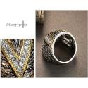 Exkluzivní luxusní prsten Swarovski Elements  Victoria