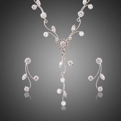 Souprava náhrdelníku a náušnic Swarovski Elements Elenora