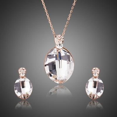 Souprava náhrdelníku a náušnic Swarovski Elements Fabianita