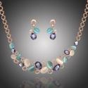 Exkluzivní souprava šperků Swarovski Elements Alejandra