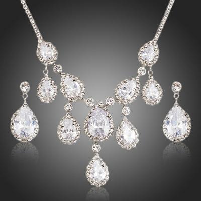 Souprava náhrdelníku a náušnic Swarovski Elements Sorrentino