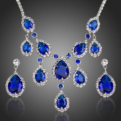 Souprava náhrdelníku a náušnic Swarovski Elements Marcellina