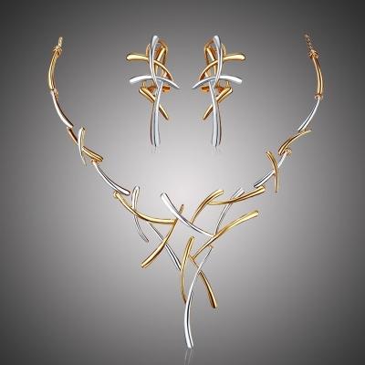 Exkluzivní souprava náhrdelníku a náušnic Dionisis