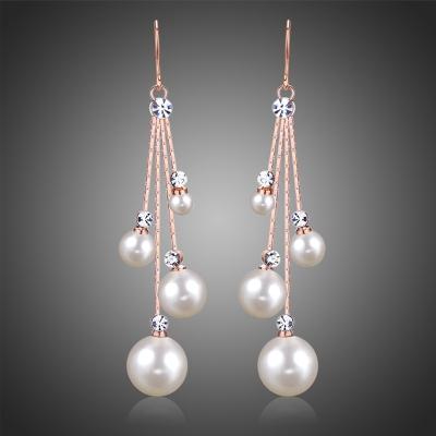 Náušnice s perlou Sigara