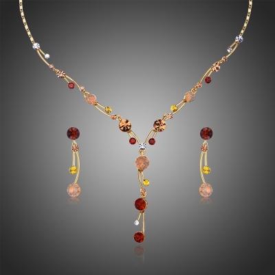 Souprava náhrdelníku a náušnic Swarovski Elements Donatella