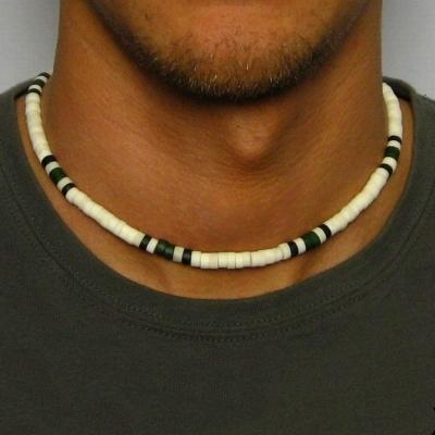 Pánský korálkový náhrdelník Declan