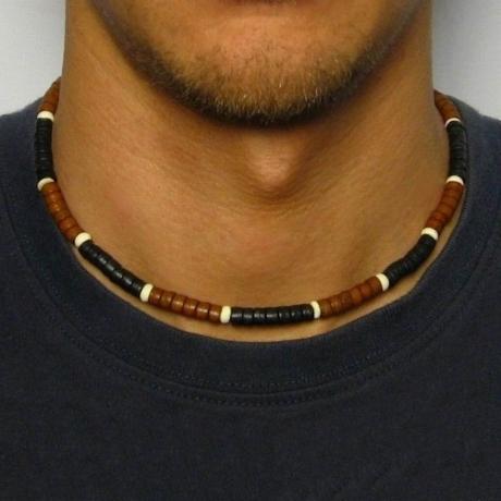 Pánský korálkový náhrdelník Stuart