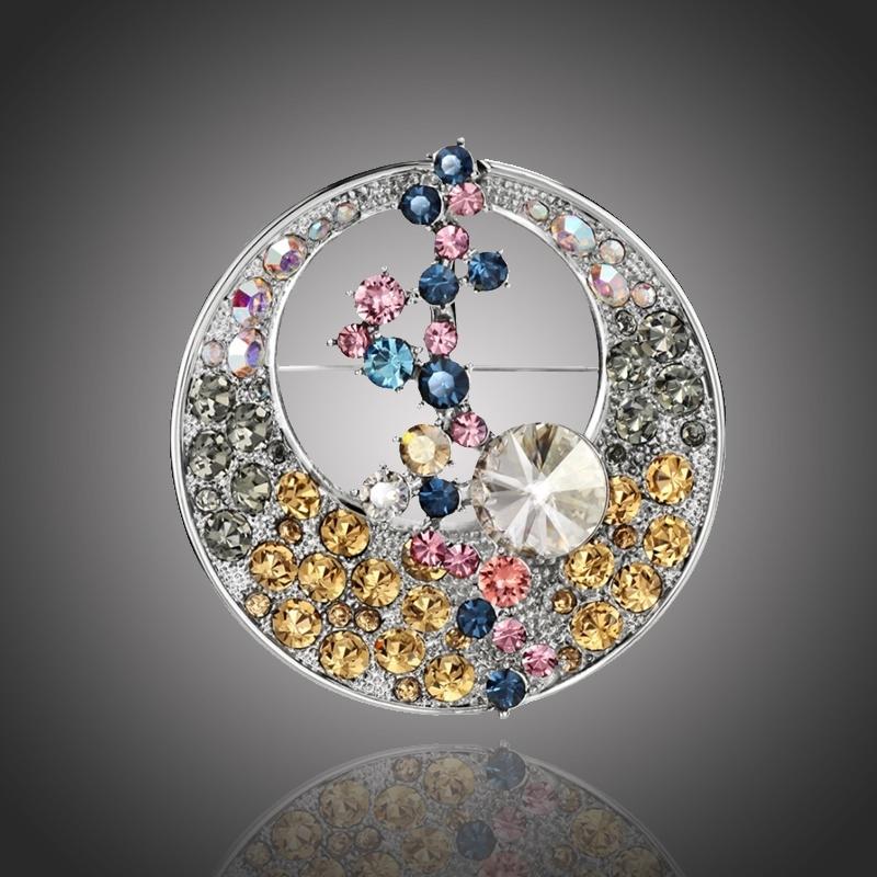 Exkluzivní brož Swarovski Elements Cavallia