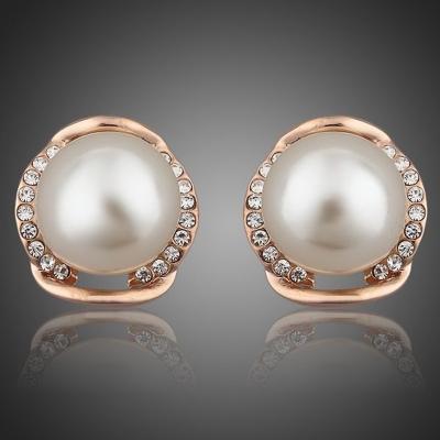 Náušnice s perlou Zavecchia