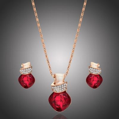 Souprava náhrdelníku a náušnic Swarovski Elements Donna Maria