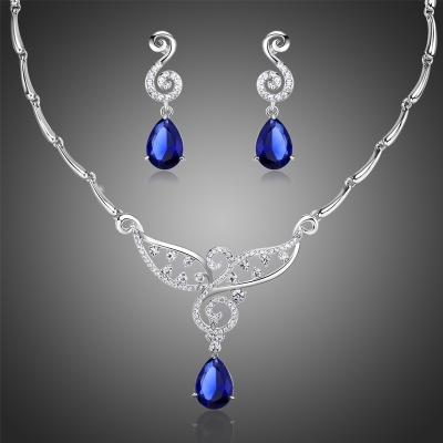 Souprava náhrdelníku a náušnic Swarovski Elements Brembilla