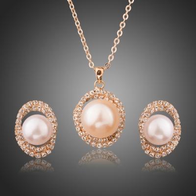 Souprava náhrdelníku a náušnic Swarovski Elements Gianetta