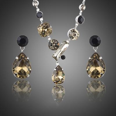 Souprava náhrdelníku a náušnic Swarovski Elements Domanita