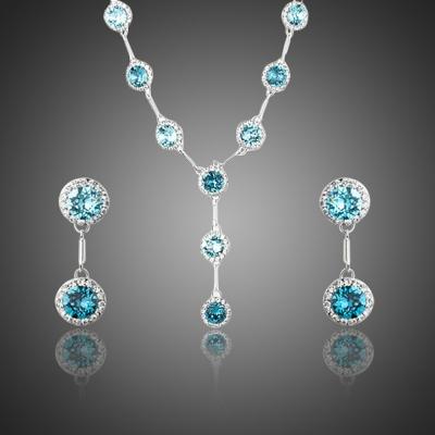 Souprava náhrdelníku a náušnic Swarovski Elements Calabrese