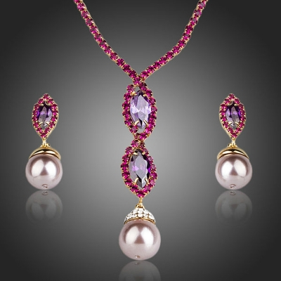 Exkluzivní souprava šperků Swarovski Elements Giannina