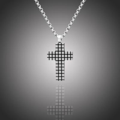 Pánský náhrdelník Tomiaso chirurgická ocel - kříž