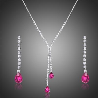 Souprava náhrdelníku a náušnic Swarovski Elements Laetitia