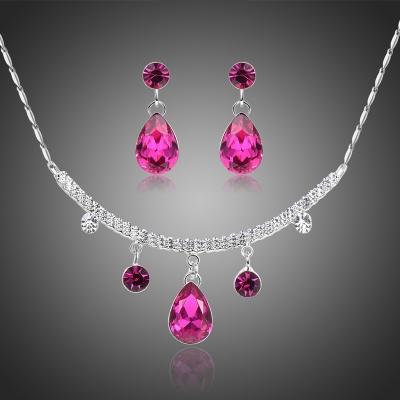 Souprava náhrdelníku a náušnic Swarovski Elements Agostina