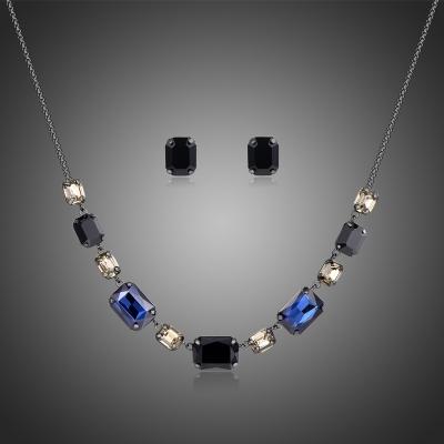 Souprava náhrdelníku a náušnic Swarovski Elements Giovanna