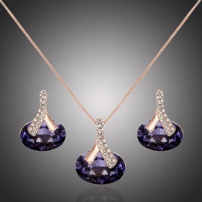 Exkluzivní souprava šperků Swarovski Elements Deborah