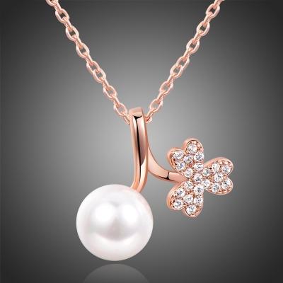 Náhrdelník s perlou Yves