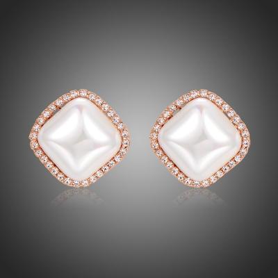 Náušnice s perlou Sincita