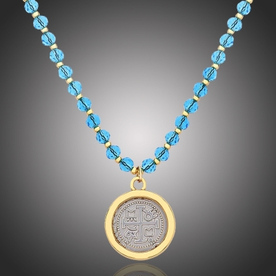 Exkluzivní náhrdelník s medailonkem Salvatici