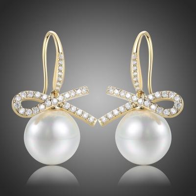 Náušnice s perlou Sintia