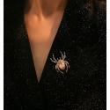 Exkluzivní brož Swarovski Elements Fabbro - pavouček pro štěstí