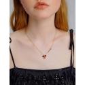 Exkluzivní náhrdelník Swarovski Elements Disney kolekce Minnie