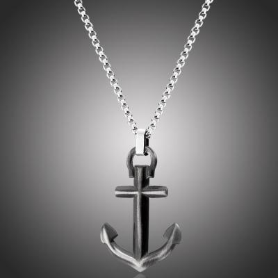 Pánský ocelový náhrdelník Neptuno - chirurgická ocel, kotva