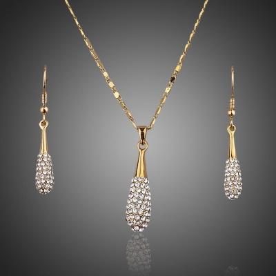 Souprava náhrdelníku a náušnic Swarovski Elements Brigitte