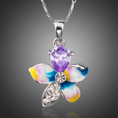 Náhrdelník Swarovski Elements Serafin - květina