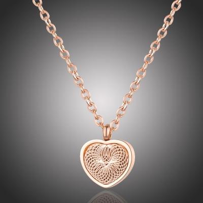Ocelový náhrdelník Ludiano - chirurgická ocel, srdíčko
