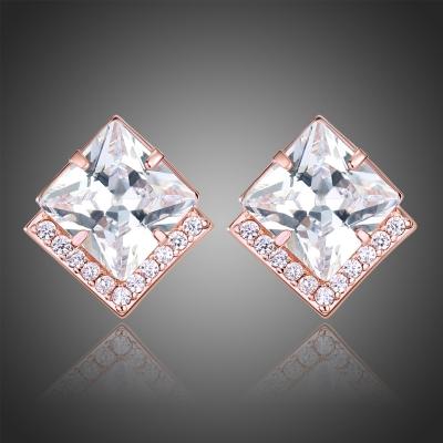 Náušnice Swarovski Elements Cristala