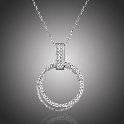 Ocelový náhrdelník se zirkony Luana