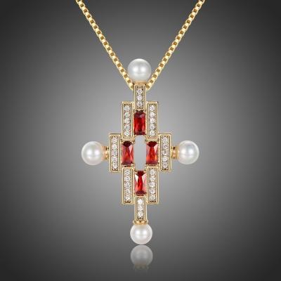 Exkluzivní bohatě zdobený náhrdelník Swarovski Elements Constantin